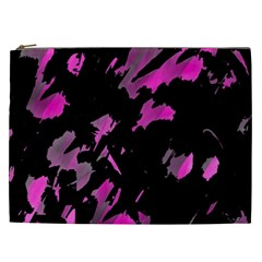 Painter was here - magenta Cosmetic Bag (XXL)