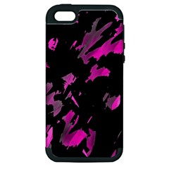 Painter was here - magenta Apple iPhone 5 Hardshell Case (PC+Silicone)