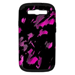 Painter was here - magenta Samsung Galaxy S III Hardshell Case (PC+Silicone)