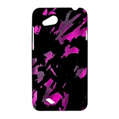 Painter was here - magenta HTC Desire VC (T328D) Hardshell Case