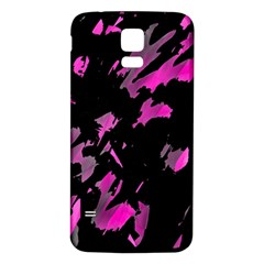 Painter was here - magenta Samsung Galaxy S5 Back Case (White)