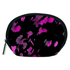 Painter was here - magenta Accessory Pouches (Medium)