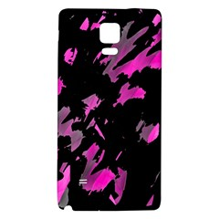 Painter was here - magenta Galaxy Note 4 Back Case