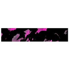 Painter was here - magenta Flano Scarf (Small)