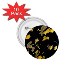 Painter was here - yellow 1.75  Buttons (10 pack)