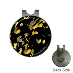 Painter was here - yellow Hat Clips with Golf Markers