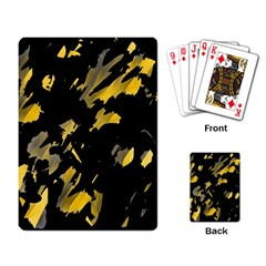 Painter was here - yellow Playing Card