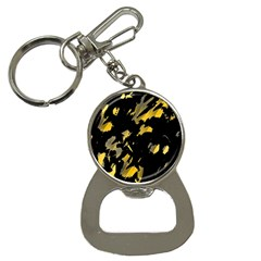 Painter was here - yellow Bottle Opener Key Chains