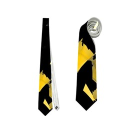 Painter was here - yellow Neckties (One Side)