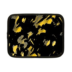 Painter was here - yellow Netbook Case (Small)