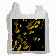 Painter was here - yellow Recycle Bag (Two Side)