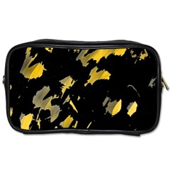 Painter was here - yellow Toiletries Bags