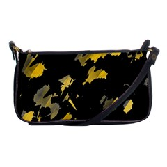 Painter was here - yellow Shoulder Clutch Bags