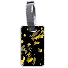 Painter was here - yellow Luggage Tags (Two Sides)
