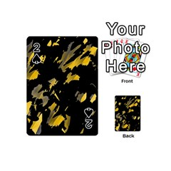 Painter was here - yellow Playing Cards 54 (Mini)