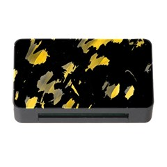 Painter was here - yellow Memory Card Reader with CF