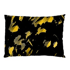 Painter was here - yellow Pillow Case (Two Sides)