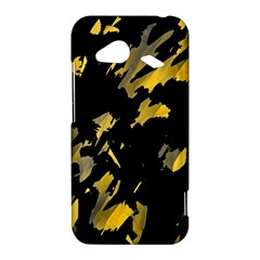 Painter was here - yellow HTC Droid Incredible 4G LTE Hardshell Case
