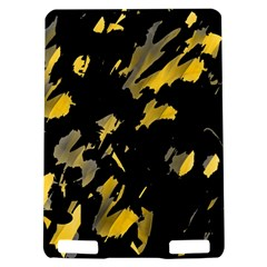 Painter was here - yellow Kindle Touch 3G