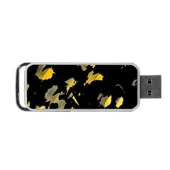 Painter was here - yellow Portable USB Flash (One Side)