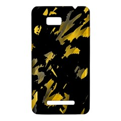 Painter was here - yellow HTC One SU T528W Hardshell Case