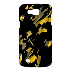 Painter was here - yellow Samsung Galaxy Premier I9260 Hardshell Case