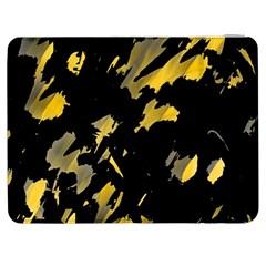 Painter was here - yellow Samsung Galaxy Tab 7  P1000 Flip Case