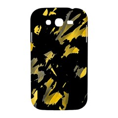 Painter was here - yellow Samsung Galaxy Grand DUOS I9082 Hardshell Case