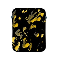 Painter was here - yellow Apple iPad 2/3/4 Protective Soft Cases