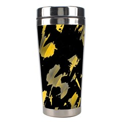 Painter was here - yellow Stainless Steel Travel Tumblers