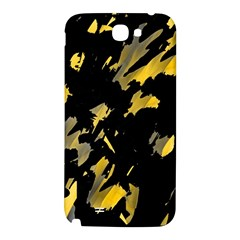 Painter was here - yellow Samsung Note 2 N7100 Hardshell Back Case