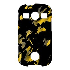 Painter was here - yellow Samsung Galaxy S7710 Xcover 2 Hardshell Case