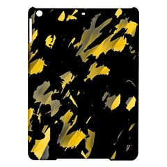Painter was here - yellow iPad Air Hardshell Cases
