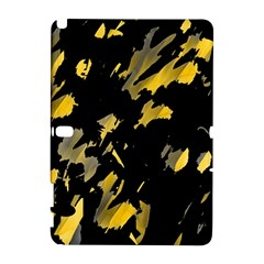 Painter was here - yellow Samsung Galaxy Note 10.1 (P600) Hardshell Case