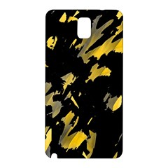 Painter was here - yellow Samsung Galaxy Note 3 N9005 Hardshell Back Case