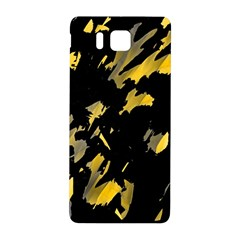 Painter was here - yellow Samsung Galaxy Alpha Hardshell Back Case