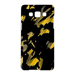 Painter was here - yellow Samsung Galaxy A5 Hardshell Case