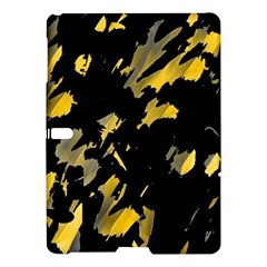Painter was here - yellow Samsung Galaxy Tab S (10.5 ) Hardshell Case