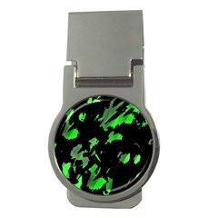 Painter was here - green Money Clips (Round)