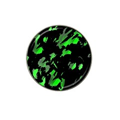 Painter was here - green Hat Clip Ball Marker (4 pack)