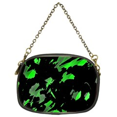 Painter was here - green Chain Purses (One Side)