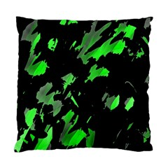 Painter was here - green Standard Cushion Case (One Side)