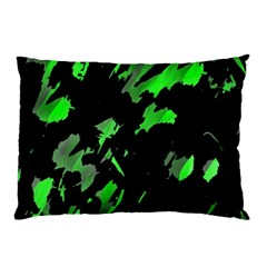 Painter was here - green Pillow Case