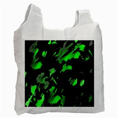 Painter was here - green Recycle Bag (One Side)