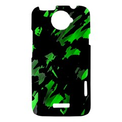 Painter was here - green HTC One X Hardshell Case