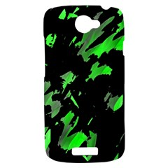 Painter was here - green HTC One S Hardshell Case