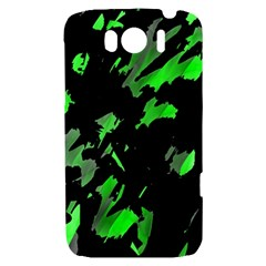 Painter was here - green HTC Sensation XL Hardshell Case