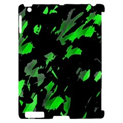 Painter was here - green Apple iPad 2 Hardshell Case (Compatible with Smart Cover)