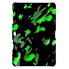 Painter was here - green Samsung Galaxy Tab 10.1  P7500 Hardshell Case