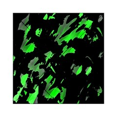 Painter was here - green Acrylic Tangram Puzzle (6  x 6 )